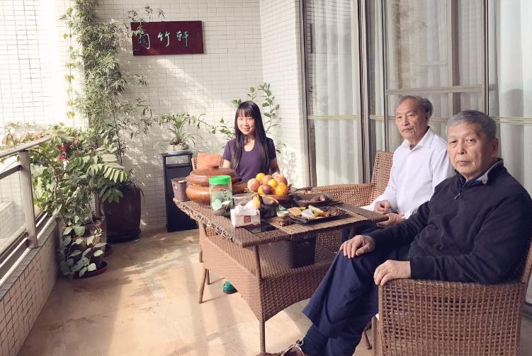 香港视觉艺术总编辑徐傳鑫来访善如画室兰竹轩