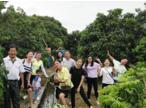 乾雍企业员工旅游集体合影